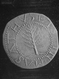 Pine Tree Shilling, Minted at Boston 1652-1686, Most Noted Coin of Early America