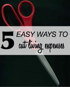 5 Easy Ways to Cut Living Expenses (plus links to hundreds of other ways you can save more everyday!)