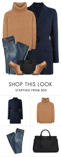 """""""#01"""" by itsybitsy62 ❤ liked on Polyvore featuring Calvin Klein Collection, Yves Saint Laurent, American Eagle Outfitters and Calvin Klein"""