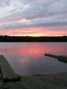 Deer Creek sunrise