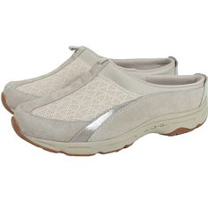 Easy Spirit Womens All In Time Mule Sneaker 9 Ivory ** Read more reviews of the product by visiting the link on the image.