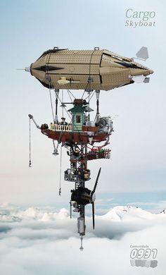 Lego Airship