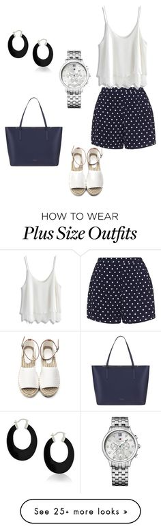 """Untitled #210"" by lilyandjunellc on Polyvore featuring Zizzi, Chicwish, Ted Baker, Tommy Hilfiger and Bling Jewelry"