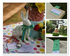 Sweet Designs: A Blog by Amy Atlas: Alice in Wonderland Party Feature