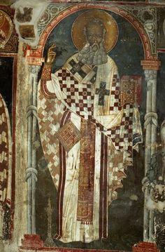Церковь Святого Афанасия Музаки. Кастория (ХІІІ в.)