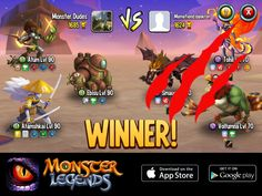 I rule at the Monster Legends Arena! If you dare to challenge me, start collecting monsters! http://www.monsterlegendsgame.com/referral/?uid=f1c9b813