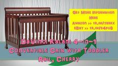 DaVinci Kalani 4-in-1 Convertible Crib with Toddler Rail Cherry|review|e...
