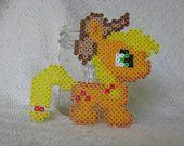 Perler Bead Applejack My little Pony