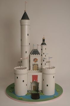 Medieval Castle by Charm City Cakes - This fairytale castle is perfect for the little princess or knight that loves all things medieval!