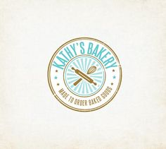 BAKERY logo design by cccdesignsyourstruly on Etsy, $30.00