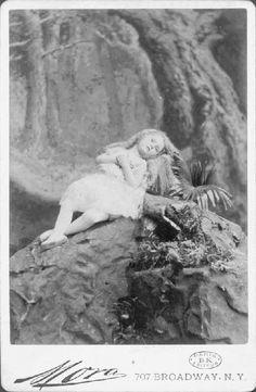 a  fairytale-like postmortem photo