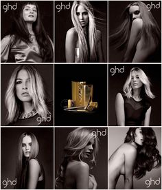 ghd good hair day gold series - need to get this! #hair #hairstyle hair hair products hairstyling straight sleek hair