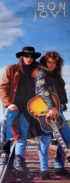 Bon Jovi, Richie & Jon  80's