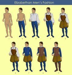 Layers of Elizabethan Men's Fashion by TzarinaRegina on DeviantArt