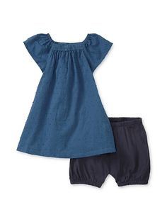 Julia B Dress & Bloomer Set, $35