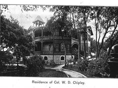 Residence of Col Chipley