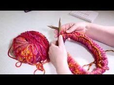 """Möbius Loop Schal stricken, Möbius Muster """"Träumling"""", """"Schlüpfling"""", DIY Anleitung by NeleC. - YouTube"""