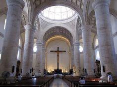 Interior, San Ildefonso Cathedral, Merida, Yucatan, Mexico by Bencito the Traveller, via Flickr