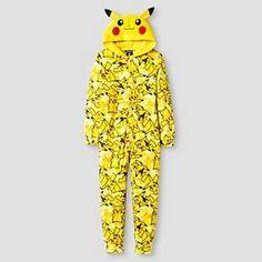 Pokemon Boys' Blanket Sleeper - Yellow : Target $17