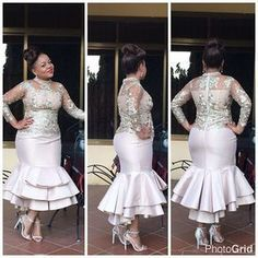 Fit for any guest wedding outfit! African Dresses For Women, African Attire, African Fashion Dresses, African Women, Lace Dress Styles, African Traditional Dresses, African Lace, African Print Fashion, Designer Dresses