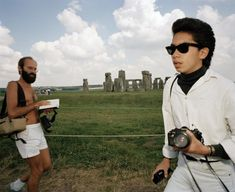 Martin Parr - England. Stonehenge. 1988.