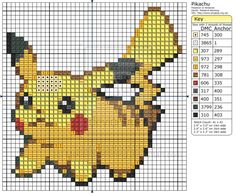 Pokemon - Pikachu III by Makibird-Stitching.deviantart.com on @deviantART