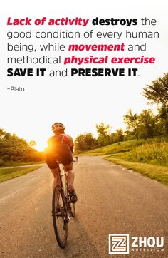 Movement and methodical physical exercise save and preserve the good condition of every human being.