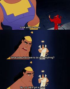 Seriously one of my favorite movies of all time!!! | 24 Reasons Yzma And Kronk Are The Best Disney Characters Ever