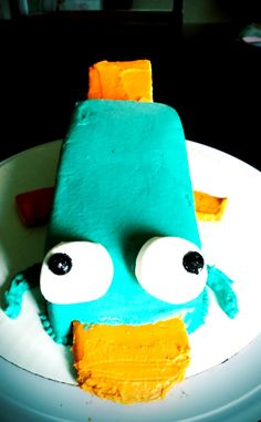 Perry the Platypus Cake!