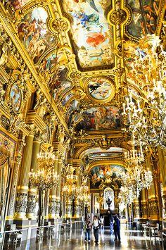 The Grand Foyer Palais Garnier Opéra de Paris France