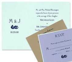 Chloe Wedding Invitations by MyGatsby.com