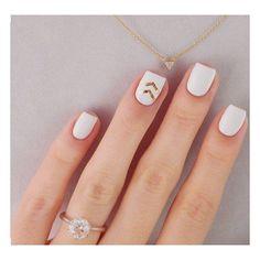Inspiracja na dziś ⭐️ Delikatny manicure ✨  #paznokcie #goldnails #nails #dandelionnails #nailart #nail #pazurki #paznokciehybrydowe #hybrydy #paznokcieżelowe #longnails #naturalnails #whitenails #naklejkiwodne #nailstickers #polskadziewczyna #polishwoman #polishgirl #manicure #zdobieniepaznokci #semilac #ilovesemilac #semilove #semigirls #nailstagram #instanails #indigonails #nailsofig #nails2inspire #nailsoftheday