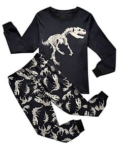 IF Pajamas Dinosaur Big Boys Long Sleeve Pajamas Sets 100... https://www.amazon.com/dp/B01JA6HO7Q/ref=cm_sw_r_pi_dp_x_XBpryb6BP1QEZ