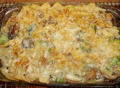 Cheesiest Chicken Alfredo Bake Recipe