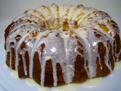 Heidi's So-Called Life: Key Lime Bundt Cake with Margarita Icing