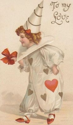 Enjoy some vintage and antique art and images for your Valentine's Day crafts and projects. Make your own Valentine's Cards, invitations, scrapbook pages, kid's crafts or altered art collage. Use these on your blog or web site.  These images are...