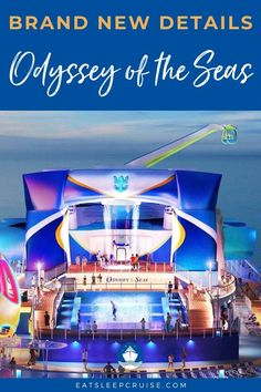 New Video: Brand New Details on Royal Caribbean's Odyssey of the Seas. Royal Caribbean's newest Quantum Ultra Class ship, Odyssey of the Seas, will debut in Fall We give you all the new details on Odyssey of the Seas. Best Cruise, Cruise Port, Cruise Travel, Cruise Vacation, Vacation Trips, Shopping Travel, Beach Travel, Cruise Checklist, Cruise Tips