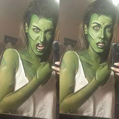 amazing makeup for comic characters