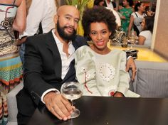 Solange And Boyfriend Attend Blue Jasmine Movie Premiere
