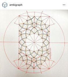 Basic Geometry, Geometry Art, Sacred Geometry, Graph Paper Art, Paper Collage Art, Geometric Patterns, Geometric Designs, Pattern Drawing, Pattern Art