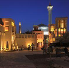 Bastakiya, el barrio persa de Bastakiya, Dubai