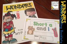 Using McGraw Hill WONDERS?  This product might be a helpful spelling tool for your kiddos to practice the weekly spelling/phonics rule. The booklet is 6 half - pages.