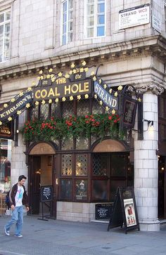 Coal Hole Pub, The Strand, London