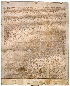 Magna Carta (1215) - complete primary source document (free ...