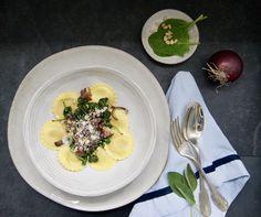 Caramelized Onions, Seasonal Recipe, Salvia