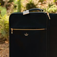 "#missadventure season 2, episode 1, ""the perfect weekend"" featuring the classic nylon international carry-on."