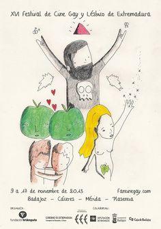 El próximo día 9 de noviembre comienza FanCine Gay, el Festival de Cine Gay y Lésbico de Extremadura.
