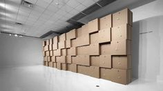 Zimoun «Sculpting Sound» : The Ringling Museum of Art, Sarasota, USA, 2011/2012 by STUDIO ZIMOUN. ZIMOUN «SCULPTING SOUND»