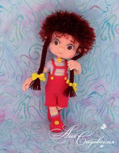 Девочка Лиза - Мои игрушечки - Галерея - Форум почитателей амигуруми (вязаной игрушки)