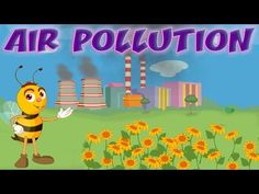 Air Pollution - Causes & Effects, Air Quality Index, Educational Videos & Lessons for Children, Kids Kindergarten Science Activities, Kindergarten Projects, Third Grade Science, Spring Activities, Elementary Science, Science Lessons, Teaching Science, Science Education, Social Science